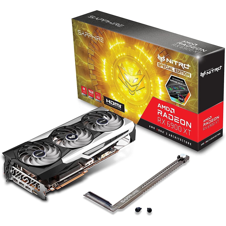 SAPPHIRE 11308-03-20G RX6900XT NITRO+ SE 16GB GDDR6 256Bit 3xDP/1xHDMI PCI-E 4.0