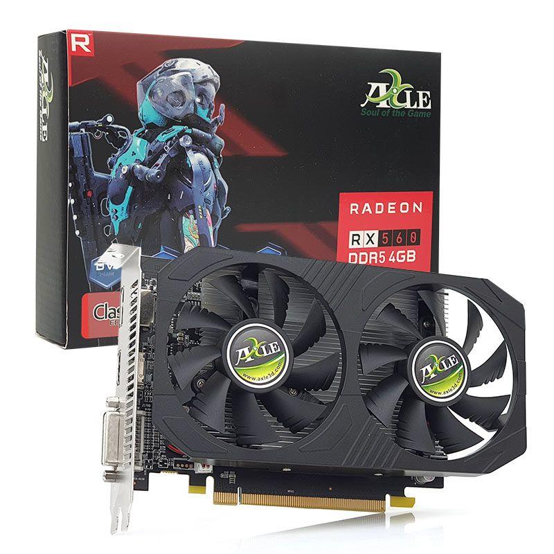 AXLE AX-RX5604GD5P8DIPD RX560 RADEON 4GB DDR5 128Bit DVI/HDMI/DP 16X