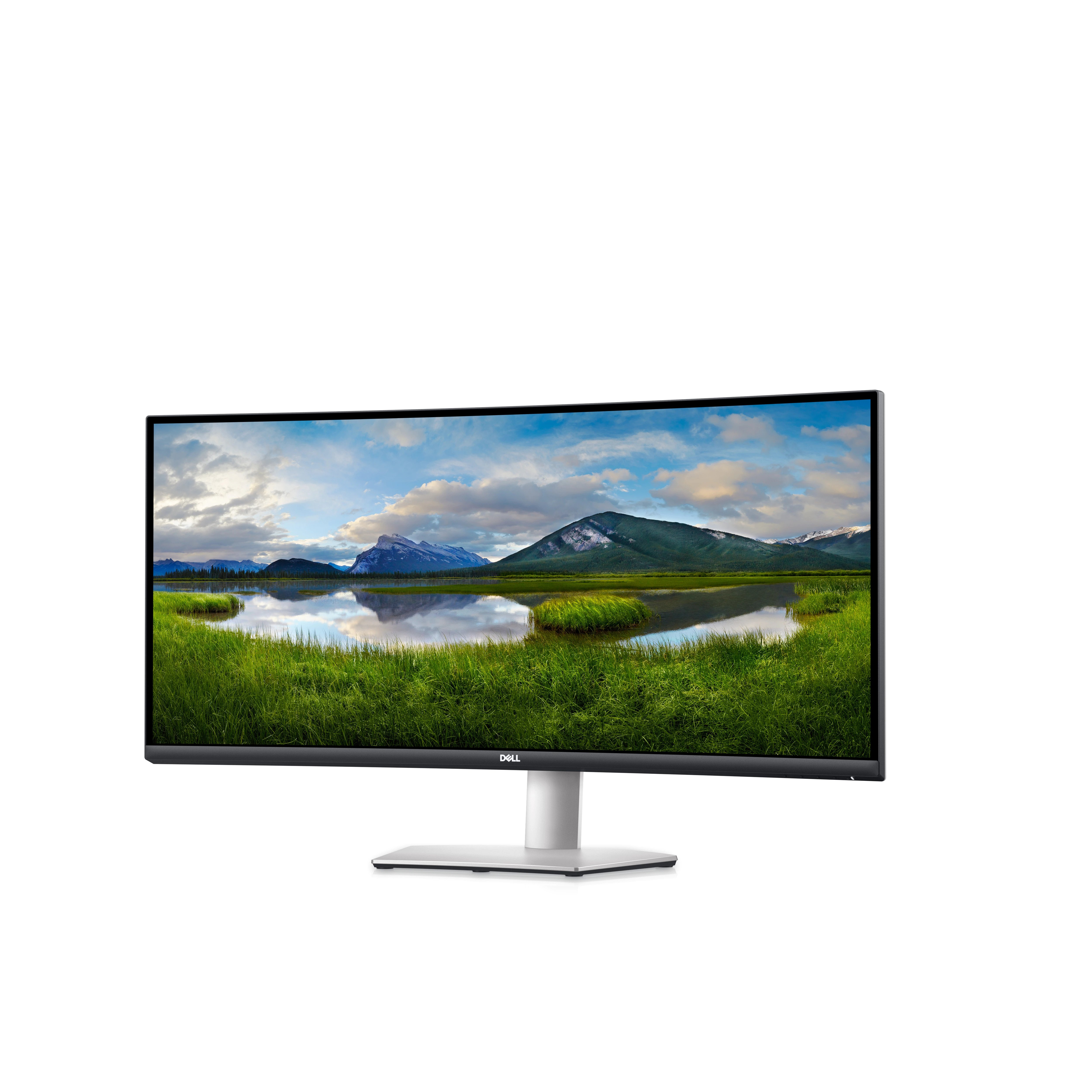 """DELL S3422DW 34"""" 4MS WQHD 3440x1440 100Hz HDMI/DP CURVED IPS LED MONITOR"""