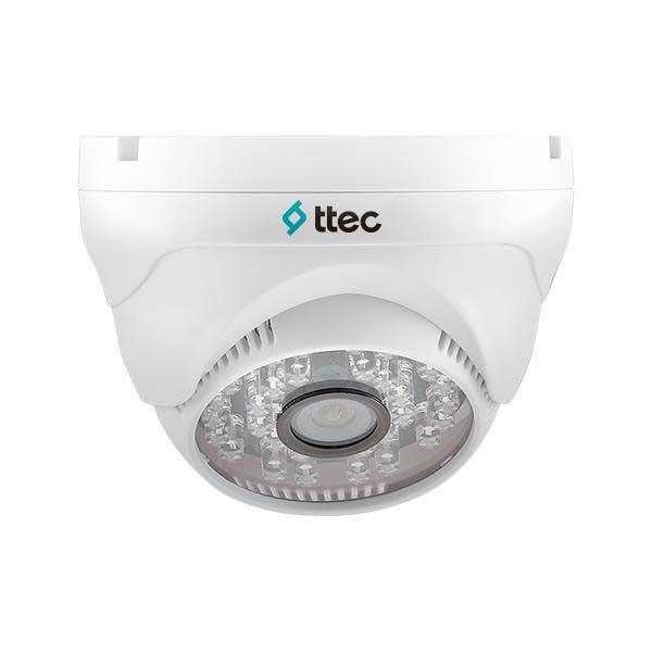 TTEC IDM501-HDIS 1 MP 3.6MM SONY ANALOG 30 IR LED ANALOG PLASTİK KASA DOME KAMERA
