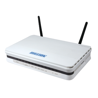 BILLION BIPAC 6200WZL 150MBPS 4 PORT 2 ANTEN 3G (USB) KABLOSUZ ADSL2 MODEM +ROUTER