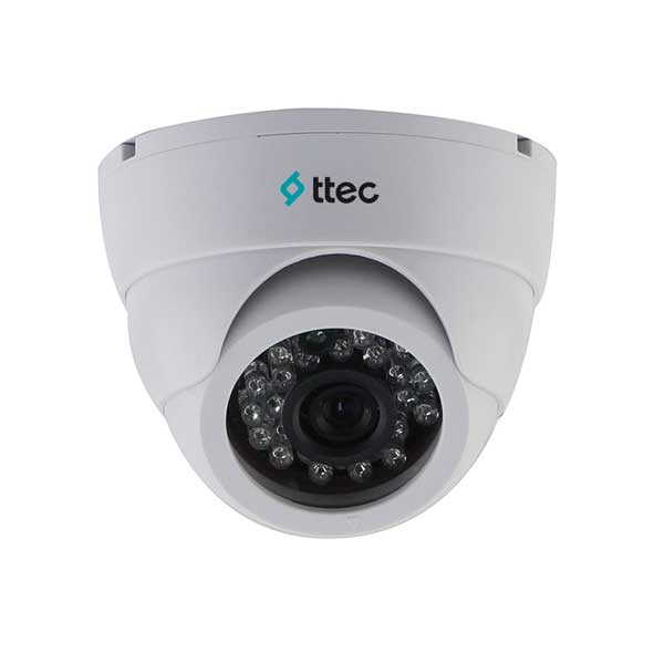 TTEC IDM1010 1MP 3.6MM CMOS 720P 24 IR LED DOME KAMERA AHD PLASTİK KASA DOME KAMERA