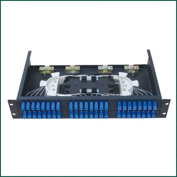"ERAT R1U19KZSCDX-48F 1U 19"" 48 FIBERLI FULL SET SC DX RACK TİPİ SM PATCH PANEL"