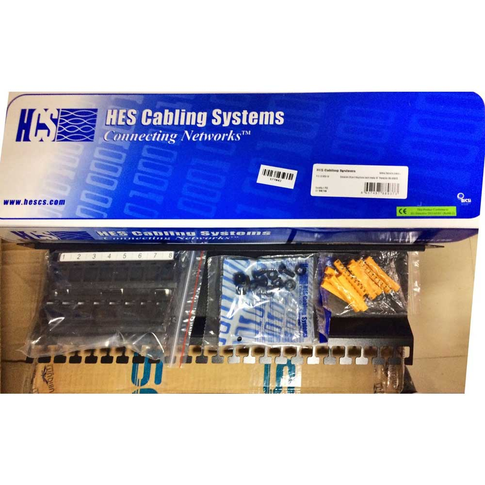 HCS P00-02450-1U 24 PORT UTP 1U BOŞ PATCH PANEL