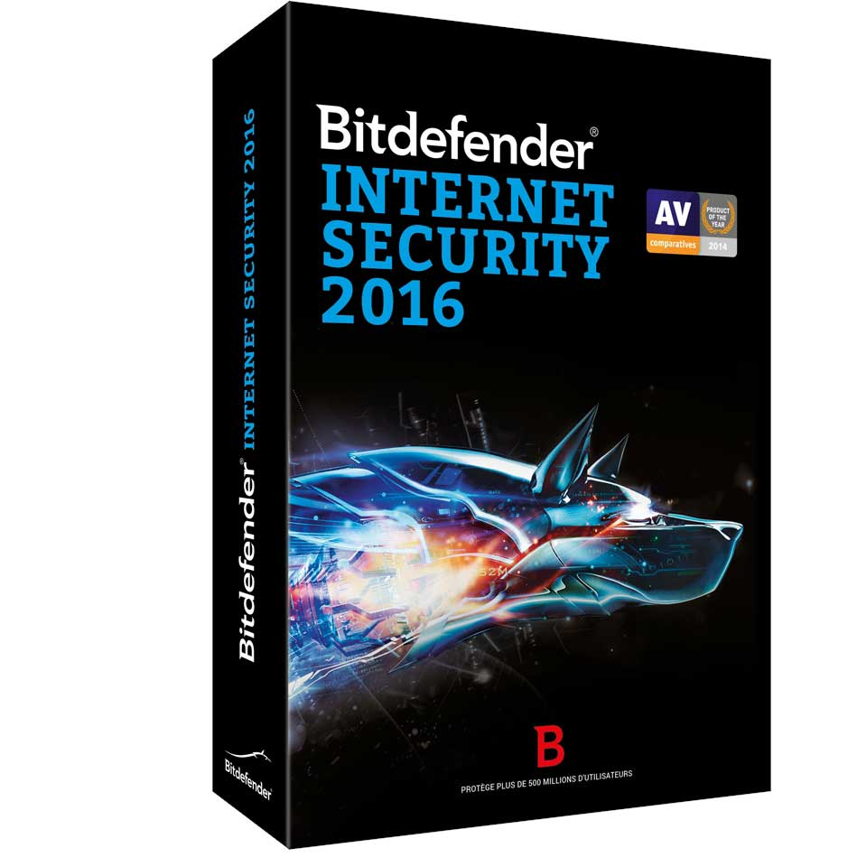 BITDEFENDER INTERNET SECURITY 2016 3 KULLANICI 1 YIL
