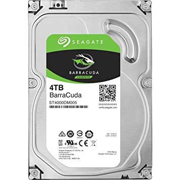 SEAGATE BARRACUDA 4TB 5900RPM 64MB SATA3 6Gbit/sn ST4000DM004 HDD