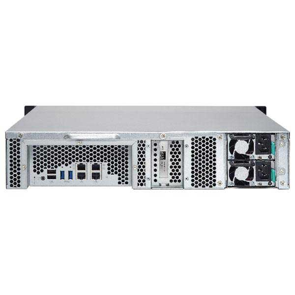 QNAP TS-863U-RP 8 BAY 8 YUVALI 3,5/2 5 SATA 3xUSB 3 0 / 2xUSB 2 0