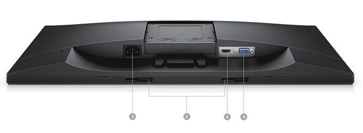 Dell E2418HN Monitör - Bağlantı seçenekleri